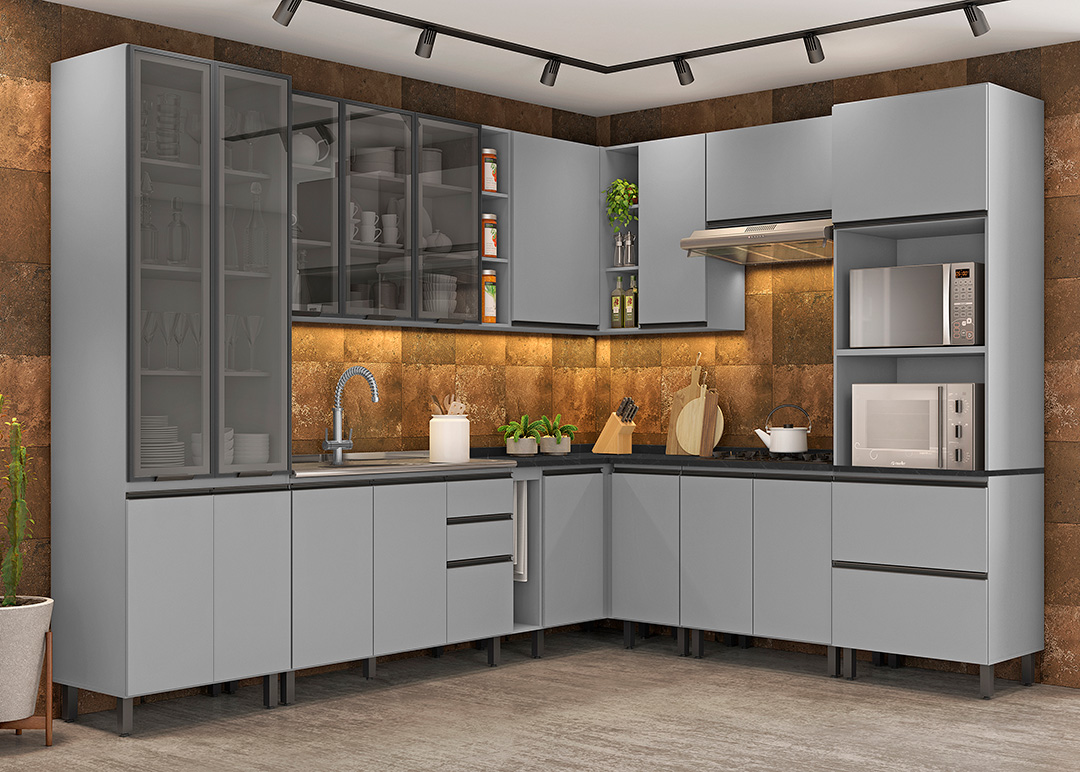 Modulated kitchens